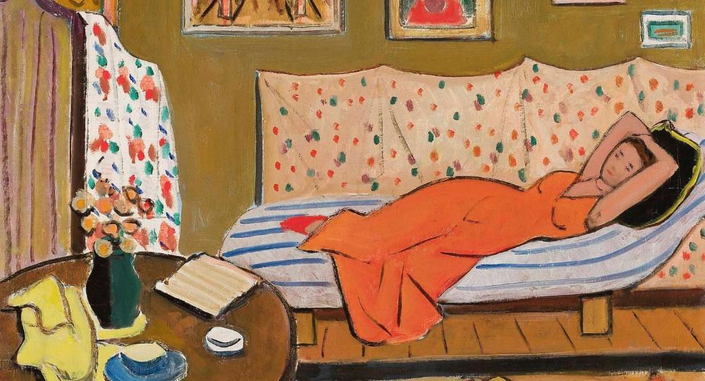"""Tymon Niesiołowski 1882–1965) """"Wnętrze pracowni"""""""